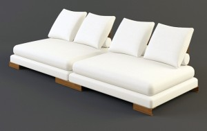 низкий диван