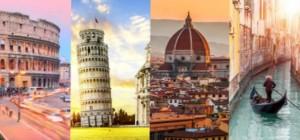 железнодорожный тур в Италию